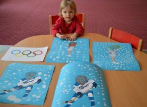 Zimní olympiáda vMŠ EDIN
