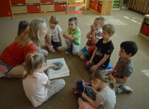 Děti znaší školky EDIN objevují svět