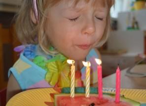 Monička slaví narozeniny