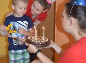 Oslava třetích narozenin Davídka